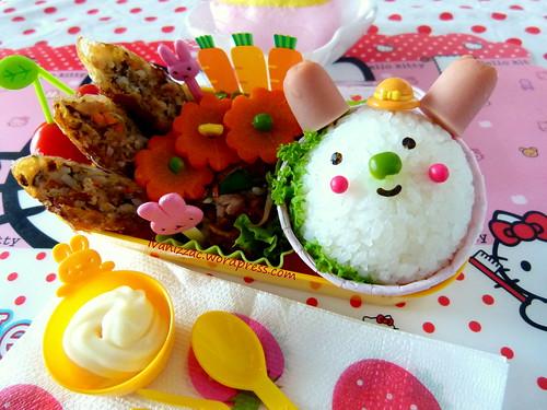 Bunny bento3