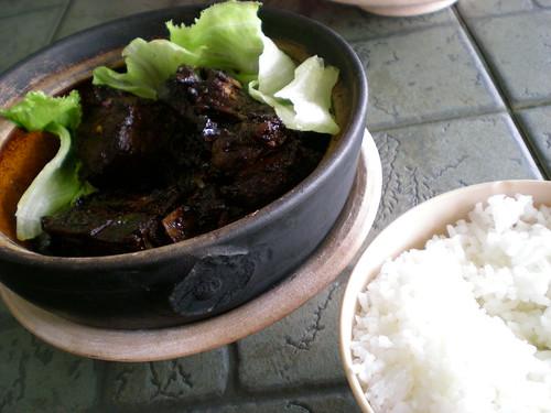 Kpg Datu dry bak kut teh with rice