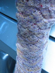 Monkey sock close up