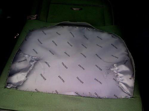 Bag damage