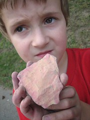 Bryce and his sunset rock