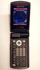 Samsung Cellphone, Open