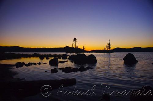 Waldo Lake Sunset