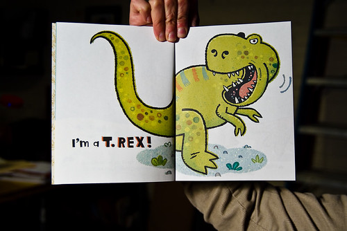 My Little Golden Book: I'm a T. Rex!
