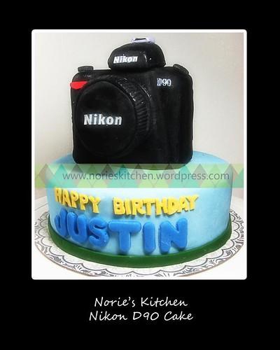 Norie's Kitchen - Nikon D90 Cake