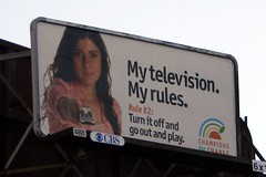My television. My rules.