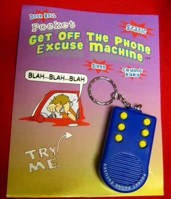 Telefoon excuus generator