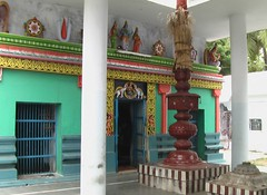 Entrance to the sanctum sanctorum