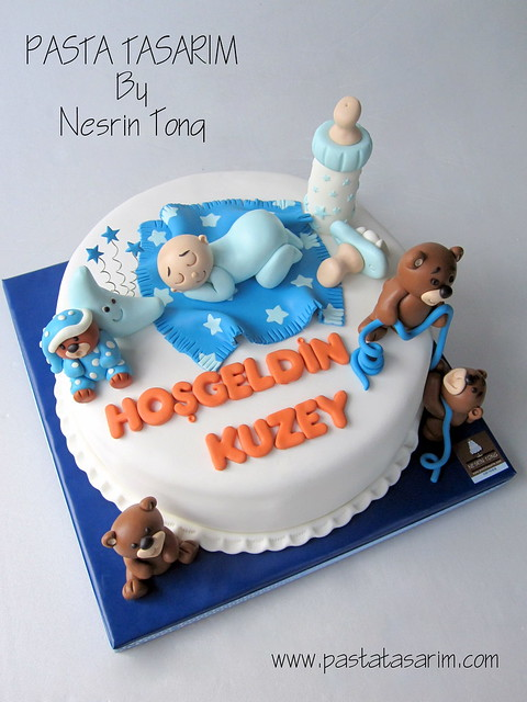 BABY SHOWER CAKE - BABY KUZEY