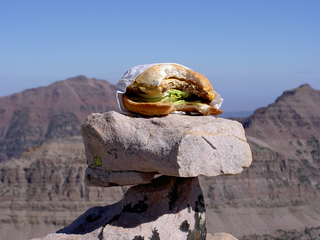 Summit Cheeseburger