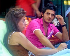 couple at nargile lounge