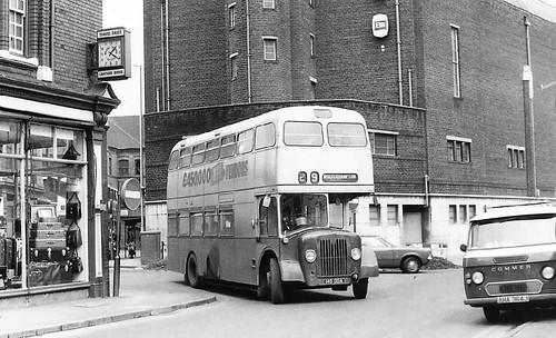 145DDA - Town End Street / Wolverhampton Street, Walsall, 1974