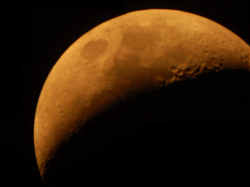 The Moon on 8/18/07