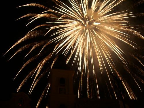 Sibiu fireworks