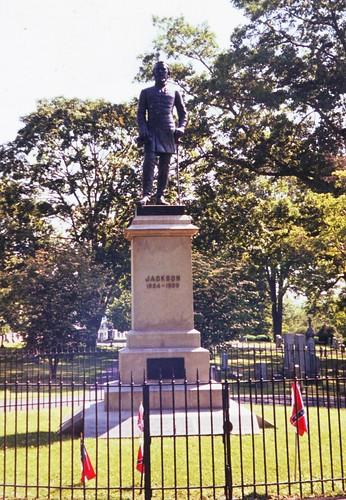 Stonewall Jackson's grave