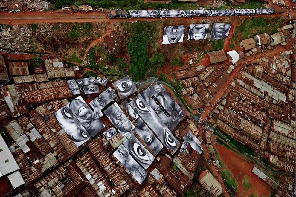 5127019735 07dc4dbaea b Artist JR   Street art raising questions across the world [24 Pics]