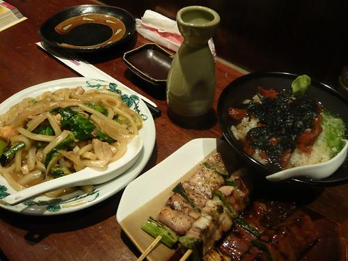 [090101.台中酒吞]右邊的梅乾茶泡飯超好吃~