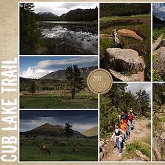 Cub Lake Trail Left