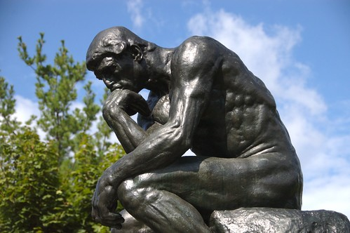 Rodins Thinker by steven n fettig, on flickr