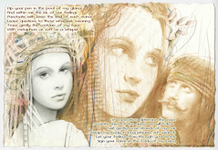 Love poem illustration by Csaba Markus poem by...