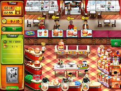 Burger Bustle game screenshot
