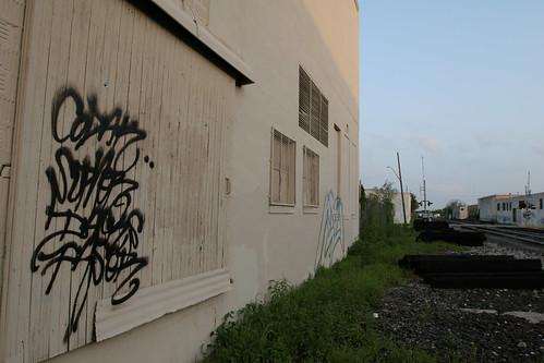 CODAK SUPHER DACKS PASER San Antonio Graffiti Street Art by iownyouturnitoff