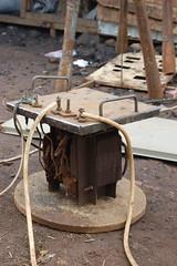 Una máquina para soldar