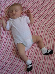 Photo of Claire at 1 month