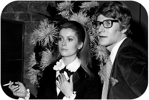 YSL and Catherine Deneuve