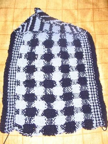 Gingham towel