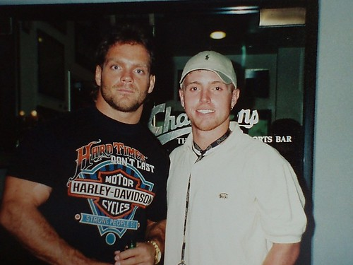 Chris Benoit and Tony