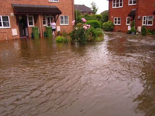 Flooding in Cheltenham