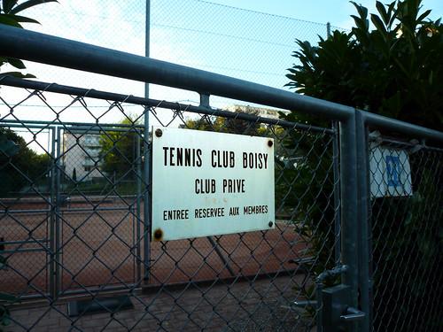 Club de tennis de Boisy