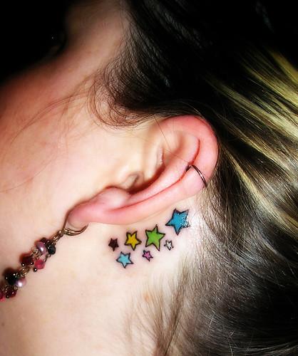 Star Tattoos For Girls