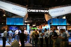 CEDIA Expo - Crestron's massive stand