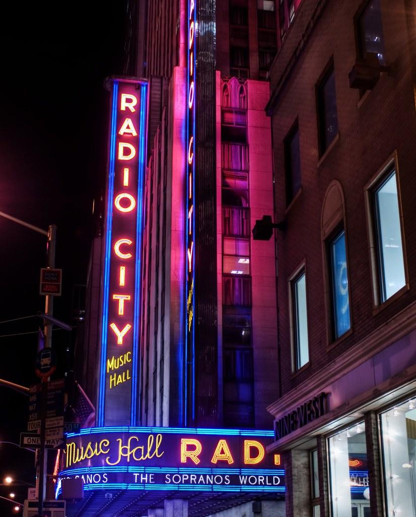 Radio City in NYC