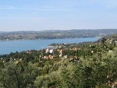 Panorama di Gardone Riviera da San Michele