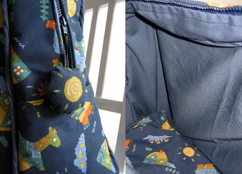 Weekender Travel Bag - detailing