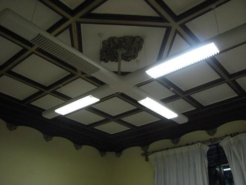 El techo de la oficina