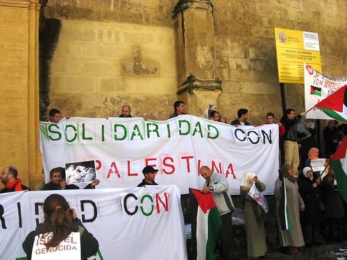 Solidaridad con Palestina Mezquita Córdoba