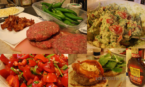 4th of July in Italy - the food!