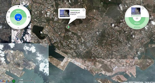 bliin: GPS-based social network