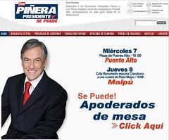 Sitio Piñera 2005