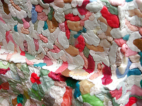 Chewing-gum [sculpture detail]