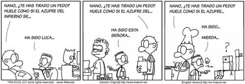 Una nueva tira cómica de TiraECOL