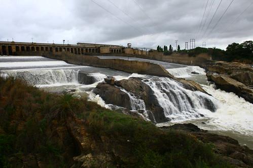 KRS Dam - Water released to Tamilnadu