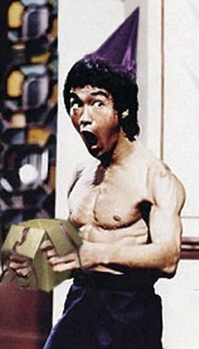 Bruce Lee loves birthdays!