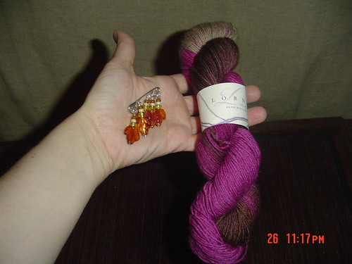 Lorna's Laces and Stitch Markers