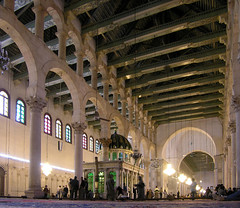great mosque of damascus 709-15 AD, syria, eas...