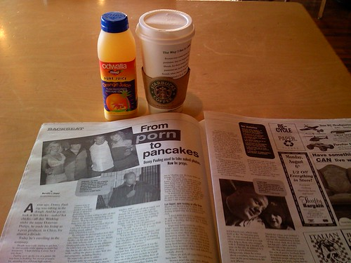 Donny in the Chico News & Review